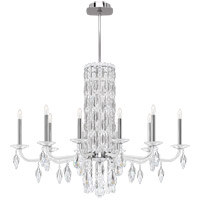 Schonbek RS83101N-401A Sarella 10 Light 41 inch Stainless Steel Chandelier Ceiling Light