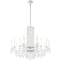 Schonbek RS83151N-06S Sarella 15 Light 41 inch White Chandelier Ceiling Light