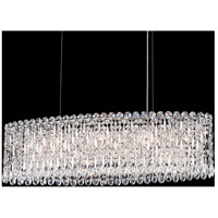 Schonbek RS8340N-401A Sarella 12 Light 36 inch Stainless Steel Chandelier Ceiling Light in Spectra Polished Stainless Steel