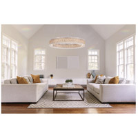 Sarella 32 Light 59 inch White Pendant Ceiling Light in Spectra