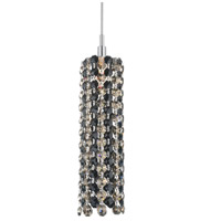 Refrax 1 Light 2 inch Stainless Steel Pendant Ceiling Light in Jaguar, Geometrix,Canopy Sold Separately