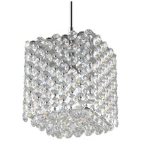 Schonbek RE0505A Refrax 1 Light 5 inch Stainless Steel Pendant Ceiling Light in Spectra Geometrix Canopy Sold Separately