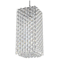 Schonbek RE0509A Refrax 1 Light 5 inch Stainless Steel Pendant Ceiling Light in Spectra Geometrix Canopy Sold Separately