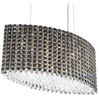 Refrax 9 Light 21 inch Stainless Steel Pendant Ceiling Light in Jaguar, Geometrix,Canopy Sold Separately