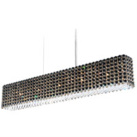 Refrax 11 Light 37 inch Stainless Steel Pendant Ceiling Light in Jaguar, Geometrix,Canopy Sold Separately