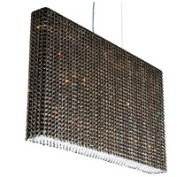Refrax 19 Light 37 inch Stainless Steel Pendant Ceiling Light in Jaguar, Geometrix,Canopy Sold Separately