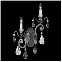Renaissance 2 Light 5 inch Antique Pewter Wall Sconce Wall Light in Clear Heritage