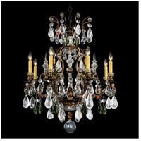 Renaissance 9 Light 27 inch Heirloom Bronze Chandelier Ceiling Light in Olivine and Smoke