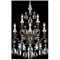 Renaissance 5 Light 10 inch Heirloom Bronze Wall Sconce Wall Light in Clear Heritage