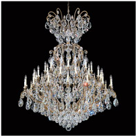 Schonbek 3775-23 Renaissance 41 Light 60 inch Etruscan Gold Chandelier Ceiling Light in Clear Heritage