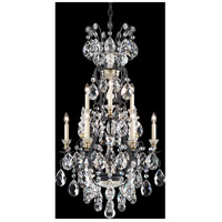 Schonbek 3780-51 Renaissance 10 Light 21 inch Black Chandelier Ceiling Light in Clear Heritage