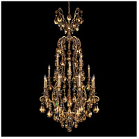 Renaissance 17 Light 28 inch Etruscan Gold Chandelier Ceiling Light in Golden Teak