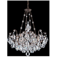 Schonbek 3787-23 Renaissance 8 Light 27 inch Etruscan Gold Chandelier Ceiling Light in Clear Heritage