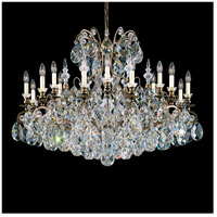Schonbek 3792-76 Renaissance 19 Light 40 inch Heirloom Bronze Chandelier Ceiling Light in Clear Heritage