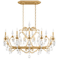Schonbek 3795N-22S Renaissance 12 Light 46 inch Heirloom Gold Chandelier Ceiling Light in Clear Swarovski