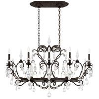 Schonbek 3795N-76S Renaissance 12 Light 46 inch Heirloom Bronze Chandelier Ceiling Light in Renaissance Swarovski