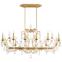 Schonbek 3796N-22S Renaissance 14 Light 56 inch Heirloom Gold Chandelier Ceiling Light in Clear Swarovski