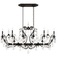 Renaissance 14 Light 56 inch Heirloom Bronze Chandelier Ceiling Light in Clear Heritage