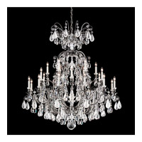 Renaissance 25 Light 45 inch Antique Pewter Chandelier Ceiling Light in Clear