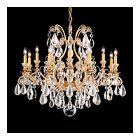 Renaissance 13 Light 33 inch French Gold Chandelier Ceiling Light in Clear
