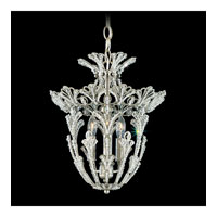 Schonbek Rivendell 3 Light Pendant in Antique Silver and Crystal Swarovski Elements Trim 6710-48S