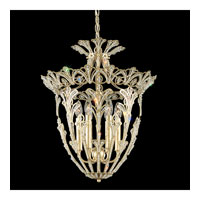 Schonbek Rivendell 6 Light Pendant in Heirloom Silver and Crystal Swarovski Elements Trim 6714-44S