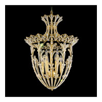 Schonbek Rivendell 9 Light Pendant in Heirloom Gold and Crystal Swarovski Elements Trim 6716-22S