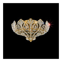 Schonbek Rivendell 5 Light Flush Mount in Etruscan Gold and Crystal Swarovski Elements Trim 7858-23S