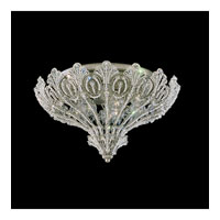 Schonbek Rivendell 9 Light Flush Mount in Antique Silver and Crystal Swarovski Elements Trim 7859-48S