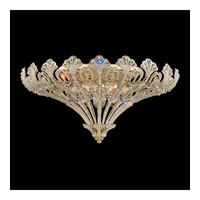 Schonbek Rivendell 12 Light Flush Mount in Silvergild and Clear Spectra Crystal Trim 7860-91A
