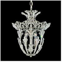 Rivendell 3 Light 12 inch Antique Silver Lantern Pendant Ceiling Light in Clear Swarovski