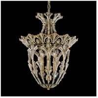 Rivendell 4 Light 15 inch Etruscan Gold Lantern Pendant Ceiling Light in Clear Swarovski