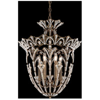 Rivendell 6 Light 18 inch Etruscan Gold Lantern Pendant Ceiling Light in Clear Spectra