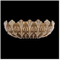 Rivendell 4 Light 6 inch Etruscan Gold Wall Bracket Wall Light in Clear Swarovski