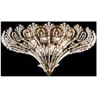 Rivendell 12 Light 24 inch Heirloom Bronze Flush Mount Ceiling Light in Clear Spectra