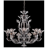 Rivendell 8 Light 26 inch Heirloom Bronze Chandelier Ceiling Light in Clear Spectra