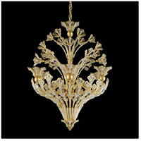 Rivendell 12 Light 24 inch Heirloom Gold Chandelier Ceiling Light in Clear Swarovski