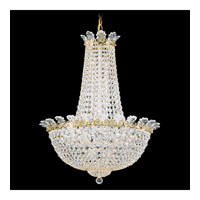 Schonbek Roman Empire 16 Light Chandelier in Polished Gold and Clear Spectra Crystal Trim 3716-20A