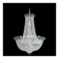 Schonbek Roman Empire 21 Light Chandelier in Polished Silver and Clear Spectra Crystal Trim 3718-40A