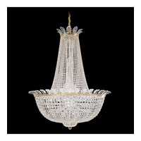 Schonbek Roman Empire 44 Light Chandelier in Polished Gold and Clear Spectra Crystal Trim 3722-20A