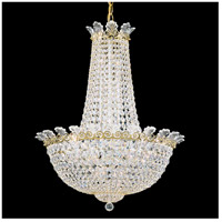 Roman Empire 16 Light 21 inch Heirloom Gold Chandelier Ceiling Light in Clear Spectra