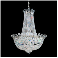 Roman Empire 21 Light 26 inch Silver Chandelier Ceiling Light in Polished Silver, Clear Spectra