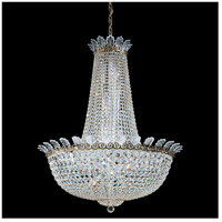 Roman Empire 28 Light 32 inch Etruscan Gold Chandelier Ceiling Light in Clear Spectra