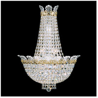 Roman Empire 6 Light 7 inch Heirloom Gold Wall Sconce Wall Light in Clear Spectra