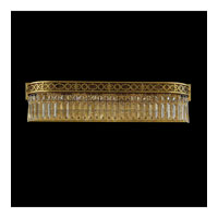 Schonbek Romanoff 5 Light Bath Light in Heirloom Bronze and Clear Heritage Handcut (H) Trim 5724-76