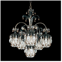 Rondelle 6 Light 21 inch Heirloom Bronze Chandelier Ceiling Light in Smoke