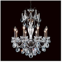 Schonbek ST1944N-76S Sonatina 8 Light 22 inch Heirloom Bronze Chandelier Ceiling Light in Clear Swarovski