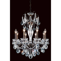Schonbek Sonatina 8 Light Chandelier in Heirloom Bronze ST1944N-76H