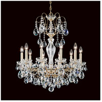 Schonbek ST1946N-49H Sonatina 10 Light 26 inch Black Pearl Chandelier Ceiling Light in Sonatina Heritage