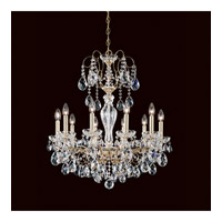 Sonatina 10 Light 26 inch Aurelia Chandelier Ceiling Light in Clear Heritage